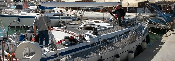 Masts, manoeuvres and rigging
